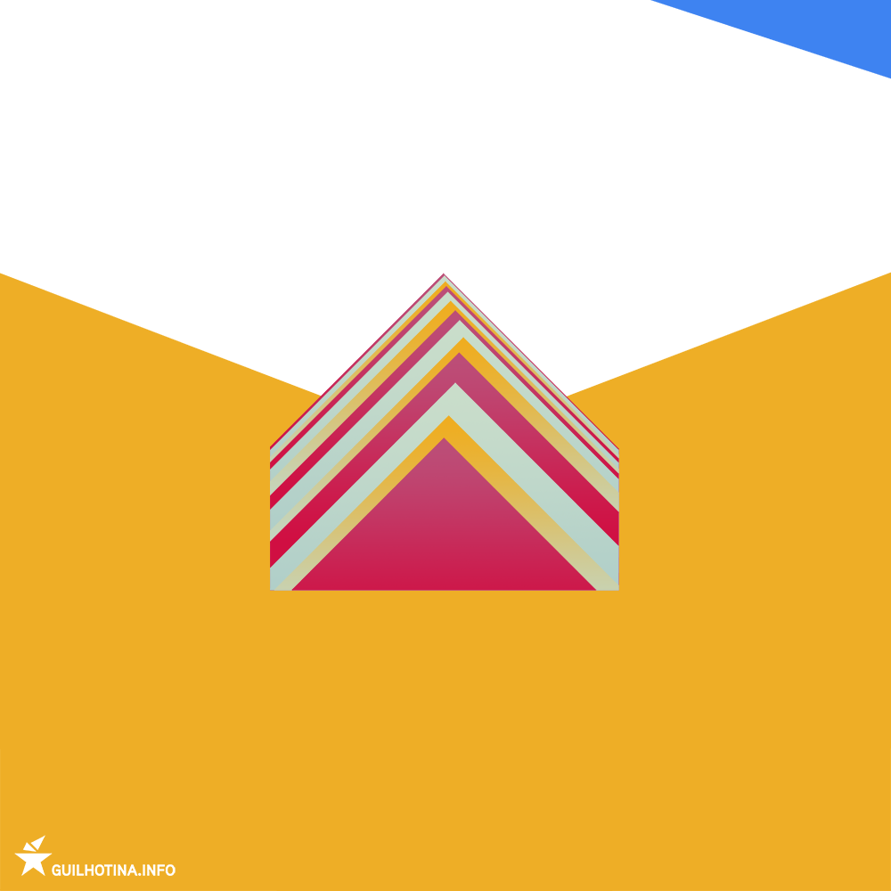 Geometrical representation of the Seven Colours Mountain